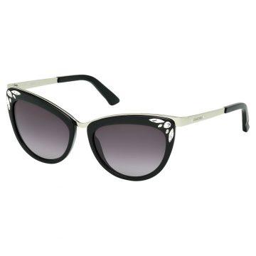 SWAROVSKI Γυαλιά ηλίου Fortune, SK0102-F 01B, μαύρο
