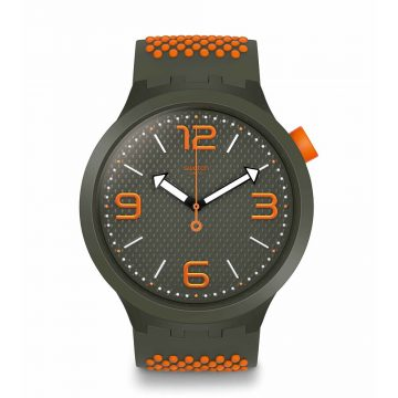 SWATCH Big Bold Bbbeauty Three Hands 47mm Silicone Strap SO27M101