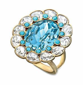 SWAROVSKI Δαχτυλίδι Azore, λευκό, επιχρυσωμένο, size 55, 5037464