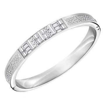 SWAROVSKI Bracelet Ethic Bangle Narrow Size M 5202251
