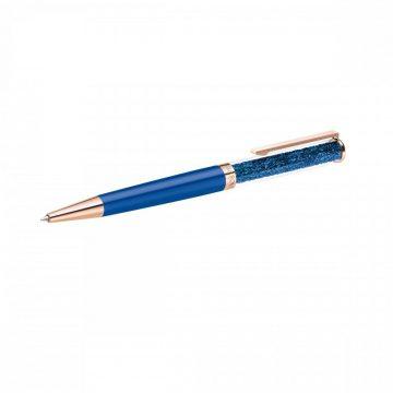 SWAROVSKI Crystalline Ballpoint Pen Blue Rose-Gold Tone Plated 5479547