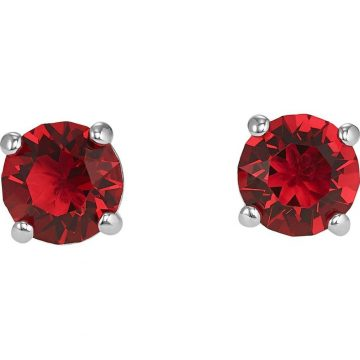SWAROVSKI Pierced earrings, Attract, red, rhodium plated, 5493979