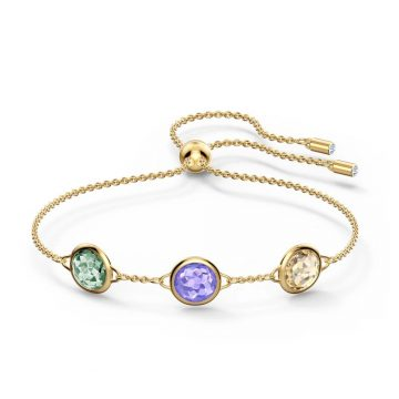 SWAROVSKI Tahlia Bracelet, Multicolored, Gold-tone plated, 5565550