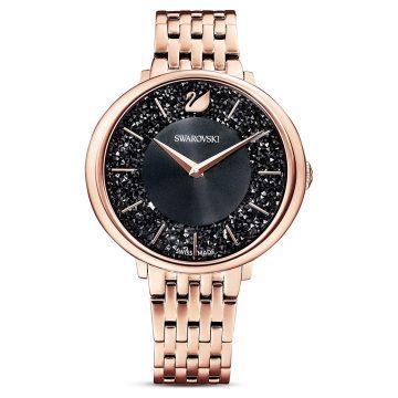 SWAROVSKI Ρολόι Crystalline Chic Μαύρο 5544587