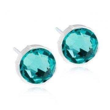 BLOMDAHL Earrings, Turquoise, 6mm, 317B