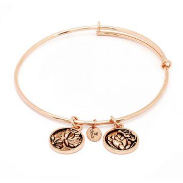 CHRYSALIS Bracelet Brass metal, SERENITY TRANSFORMATION, CRBT0306RG