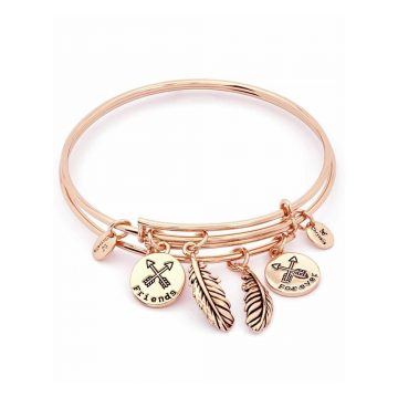 CHRYSALIS Bracelet Brass metal, TWO OF A KIND FOREVER FRIENDS, CRBT1903GP