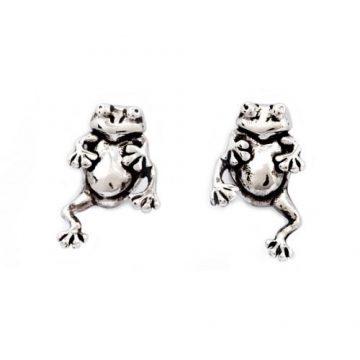 CHRYSALIS Earrings Brass metal, CHARMED FROG, CRET0210SP