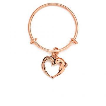 CHRYSALIS Ring Brass metal, CHARMED APHRODITES HEART, CRRT0204RG