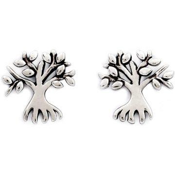 CHRYSALIS Earrings Brass metal, CHARMED MONEY TREE, CRET0206SP