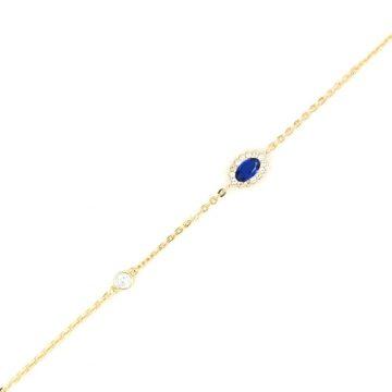 Βραχιόλι γυναικείο, χρυσός Κ14 (585°)
