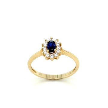 Δαχτυλίδι γυναικείο, χρυσός K14 (585°)