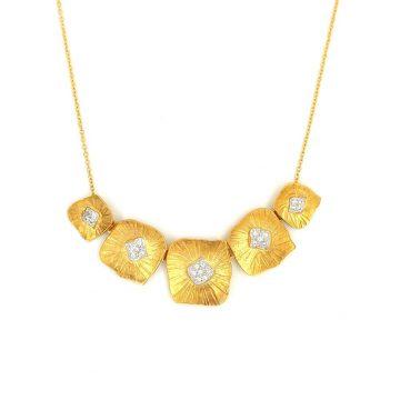 Κολιέ γυναικείο, χρυσός K14 (585°)