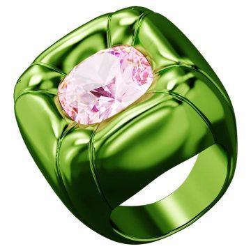 SWAROVSKI Dulcis cocktail ring Green, size 55, 5601542