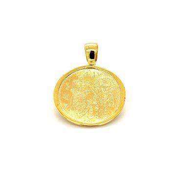 Amulet Constantine, gold Κ9 (375°)