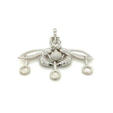 Women's pendant, gold K14 (585 °), bee