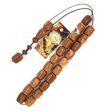 Kombolois Ebony – wood cook – aromatic fruit(21 beads)