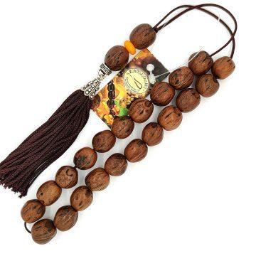 ΚΟΜΠΟΛΟΙ Αρωματικός καρπός (21 χάντρες) με φούντα