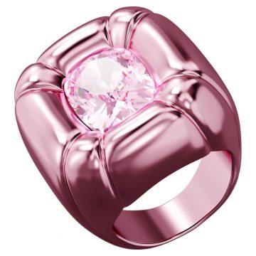 SWAROVSKI Dulcis cocktail ring Pink, size 55, 5601579