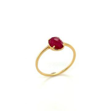 Women's ring, gold K14 (585°)