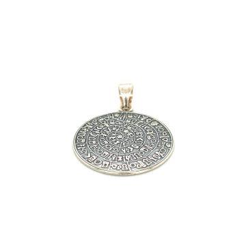 Pendant, silver (925 °), Disc of Phaistos