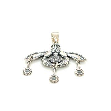 Women's Pendant, silver (925 °), Bee