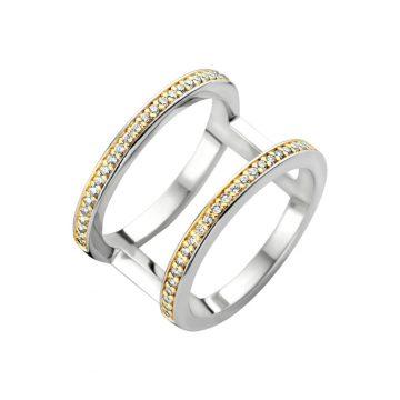 TI SENTO Δαχτυλίδι  γυναικείο, ασήμι (925°) ,1992ZY