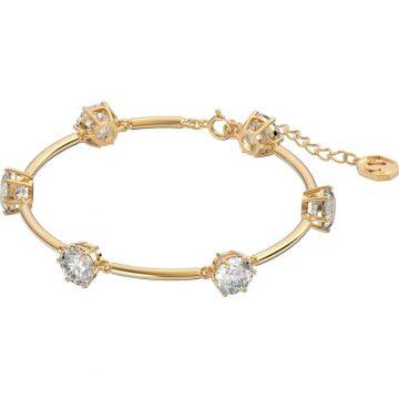 SWAROVSKI Constella bracelet White, Gold-tone plated, shiny, 5622719