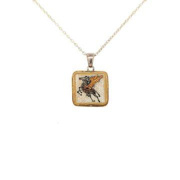 Mosaic pendant Pegasus