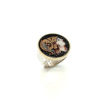 Mosaic ring Athena