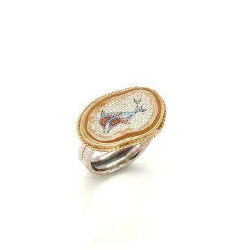 Mosaic ring Dolfin