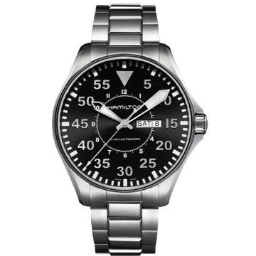 HAMILTON Khaki Aviation Pilot Day Date Auto H64715135